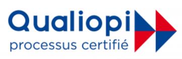 Logo certification Qualiopi Andare Conseil